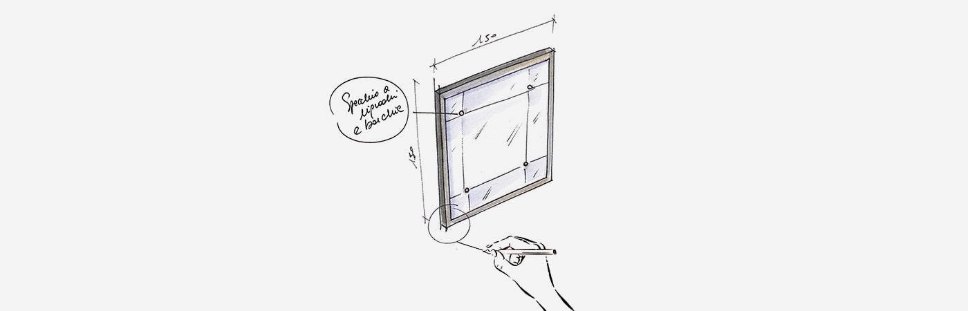 Specchiere su misura a milano la collezione di galleria pescetta pescetta - Specchi su misura verona ...